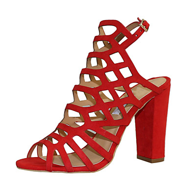 Rouge Faux Chaussures Femme Bottier ouvert Bleu Marron Cuir Sandales amp; royal Bout 06752067 Gladiateur Talon Evénement Soirée Boucle Eté 5S1xqg1w7