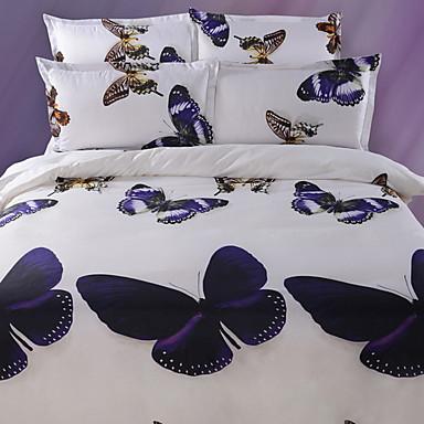 ensembles housse de couette 3d polyester imprim 4. Black Bedroom Furniture Sets. Home Design Ideas