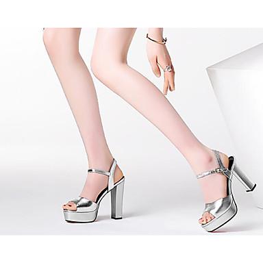 Sandales Chaussures Eté Cuir Talon Bottier Escarpin Argent Confort 06769586 Noir Nappa Femme Basique xTwSn4qU4W
