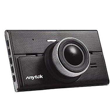 Anytek G68 1080p Vedere nocturnă / Dual Lens Car DVR 170 Grade Unghi larg 4 inch IPS Dash Cam cu Vedere nocturnă / G-Sensor / Mod de