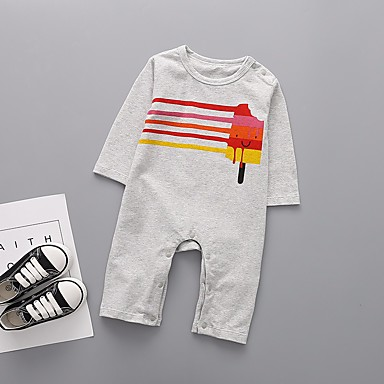 23b56d52cd7 Χαμηλού Κόστους Μωρουδιακά Ρούχα Για Αγόρια-Μωρό Αγορίστικα Βασικό  Καθημερινά Μονόχρωμο / Ριγέ / Γεωμετρικό