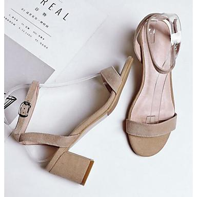 06764382 Bottier Fuchsia Eté Femme Brun Confort Sandales Bout Talon Boucle claire Gris Daim ouvert Chaussures wwPU6Y