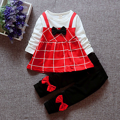 Bebelus Fete Mată Manșon scurt Set Îmbrăcăminte