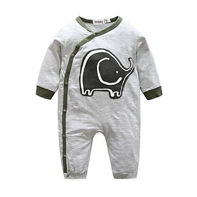 Bebelus Băieți De Bază Imprimeu Manșon Lung O - piesă / Copil