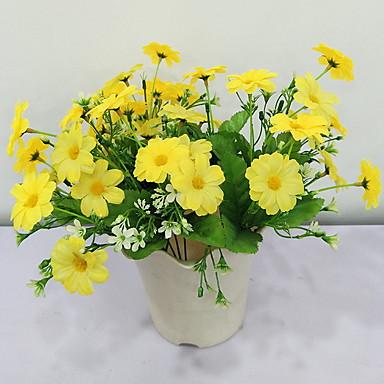 Flori artificiale ramură Clasic Rustic Margarete Față de masă flori
