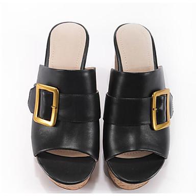 Vin Chaussures 06766705 Creepers Cuir Amande Eté Noir Confort Sandales Femme 0Aqzdqw
