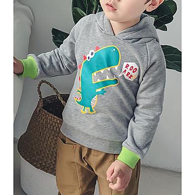 Copii Băieți Activ Imprimeu Imprimeu Manșon Lung Bumbac Bluză