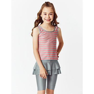 Χαμηλού Κόστους Ρούχα για Κορίτσια-Παιδιά Κοριτσίστικα Μπόχο Αθλητικά Συνδυασμός Χρωμάτων Κλασσικό στυλ Μισό μανίκι Αμάνικο Πολυεστέρας Νάιλον Spandex Μαγιό Ανθισμένο Ροζ