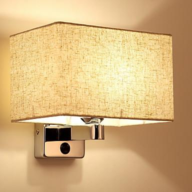 Modern / Contemporan Becuri de perete Sufragerie / Dormitor Lemn / bambus Lumina de perete 220-240V 40 W / E27