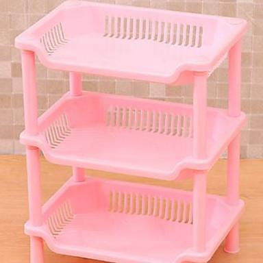Kitchen Organization Rack & Holder Plastic Easy to Use 1pc