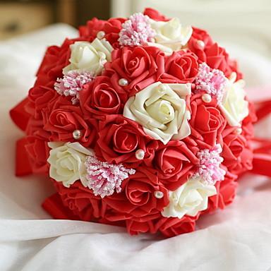 Flori artificiale 1 ramură Single Modern / Contemporan / Pastoral Stil Trandafiri Față de masă flori