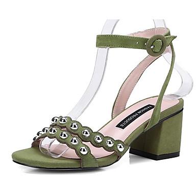 Femme Eté Basique Noir Chaussures Escarpin Confort Daim Bottier 06766501 Talon Vert Sandales Rouge FXrXwOx