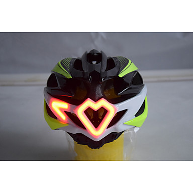 biciclete Casca 24 Găuri de Ventilaţie Sport Exerciții exterior / Ciclism / Bicicletă / Motocicletă - Verde Unisex