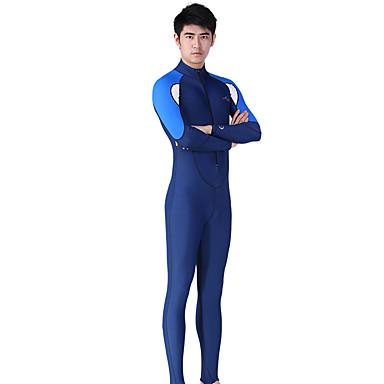 Dive&Sail Homens Segunda-pele para Mergulho SPF50, Proteção Solar UV, Secagem Rápida Elastano Corpo Inteiro Roupa de Banho Roupa de Praia Roupas de Mergulho Mergulho / Respirável / Com Stretch