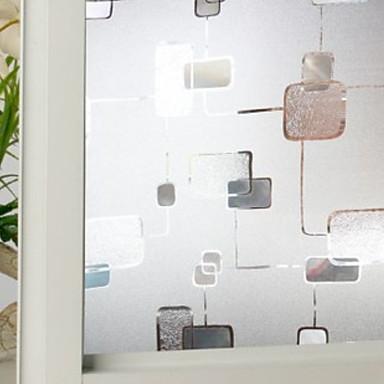 Fereastră de film și autocolante Decor Γεωμετρικά Geometric PVC Anti Orbire