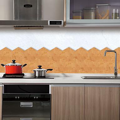 Autocolante de Perete Decorative - 3D Acțibilduri de Perete Forme / #D Sufragerie / Dormitor / Baie