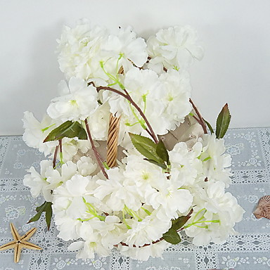 Flori artificiale 24 ramură Clasic Modern / Contemporan Sakura Flori Perete