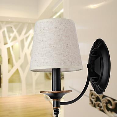 Model nou Modern / Contemporan Becuri de perete Sufragerie / Dormitor Metal Lumina de perete 220-240V 25 W