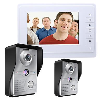 MOUNTAINONE SY819MKW21 7 Inch Video Door Phone 7 inch Mâini-libere 700 TV Line Interfon video 1 la 1