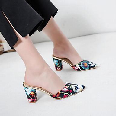 Violet Mules Polyuréthane Talon Femme Eté Chaussures A 06752065 Rouge Arrière Noir Sabot amp; Bride Bottier qW7T8w