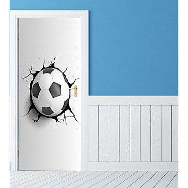 Autocolante de Perete Decorative / Etichete pentru autovehicule - Sărbători perete Abțibilduri Fotbal / #D Sufragerie / Dormitor