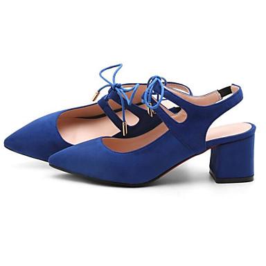 Bleu Printemps Talon Bottier Noir Basique Eté Daim Sandales 06785877 Escarpin Femme Chaussures Rouge Confort EBq7w7fa