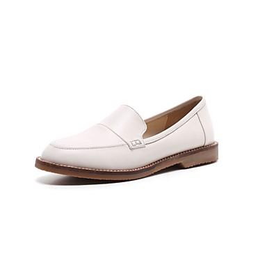 06797004 Femme Chaussures Beige Marron Ballerines Noir Confort été Cuir Nappa Printemps Talon Plat qTSwq7H6x