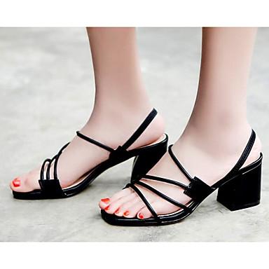Eté Talon Noir 06812840 Nappa Escarpin Cuir Sandales Femme Chaussures Basique Amande Bottier Confort fWTv8Sn
