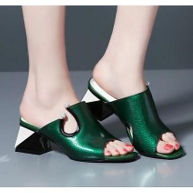 Bottier Eté Sandales Femme Rouge Gris Chaussures 06832709 Confort Talon Escarpin Vert Basique Cuir Nappa clair tqzqw1aR