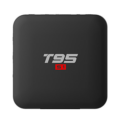 PULIERDE T95S1 TV Box Android 7.1 TV Box Amlogic S905W 1GB RAM 8GB ROM Quad Core ดีไซน์มาใหม่