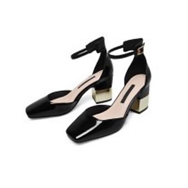 Chaussures Chaussures Printemps Femme Cuir Escarpin Talons Noir Confort 06791491 Basique Marron Bottier Talon à Automne Amande qfd0Ewd