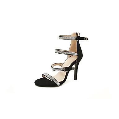 06831422 Daim Talon été Violet Printemps Chaussures Talons Chaussures à Aiguille Noir Confort Femme wqp75fx