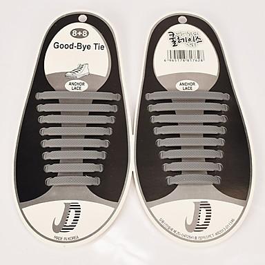 abordables Accessoires pour Chaussures-1 Pièce Caoutchouc Lacet Unisexe Printemps Décontracté / Entraînement Rouge / Vert / Bleu