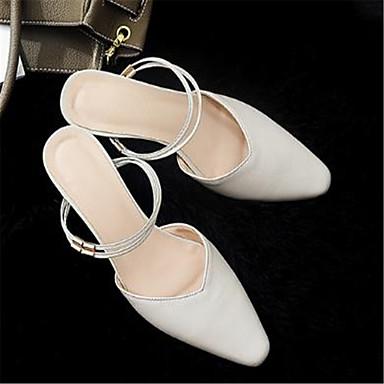 Noir Basique Escarpin Talon Mules Femme Bout Chaussures Eté Cuir Beige pointu amp; 06785648 Sabot Bottier 17wqAxgaIn
