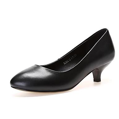 Talon 06830440 Aiguille Confort Femme Chaussures Noir Automne à Nappa Basique Chaussures Talons Printemps Cuir Escarpin 1674fP6