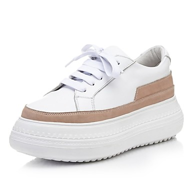 06811113 Confort Basket Cuir Chaussures Femme hiver Nappa Automne Rose Creepers Gris SHXvxOwx