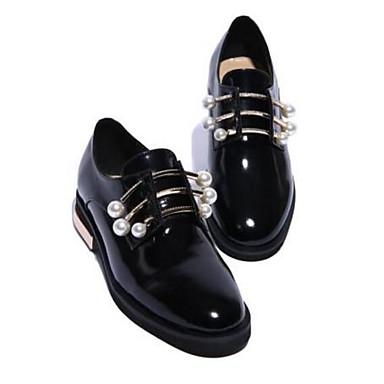 Plat Chaussures Noir Ballerines Femme Talon Bout Confort Printemps 06778683 Cuir Nappa été fermé aTwqSC4