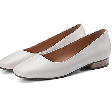 fermé Confort Chaussures Eté Nappa Cuir 06810035 Beige Noir Bout Femme Rose Talon Printemps Ballerines Plat AvfwUnqX