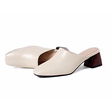 Noir 06831420 Talon Femme amp; Marron Nappa Cuir Chaussures Sabot Bottier Eté Confort Beige Mules xqWv1pfq4w