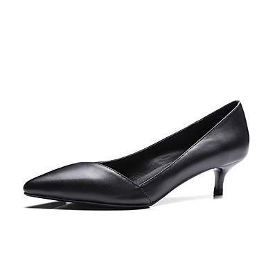 à Confort Chaussures Blanc Aiguille 06828393 Nappa Chaussures Femme Cuir Printemps été Talons Noir Talon g0nqTSAW