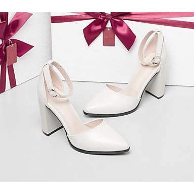 bien bien bien la transformation: messieurs - dames: les chaussures de confort / basic pompe printemps nappa cuir beige talon noir, talons chunky 6390e0