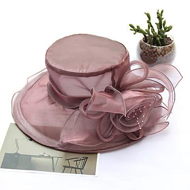 abordables Coiffes-Tulle Coiffure avec Bonnet 1pc Mariage / Fête / Soirée Casque