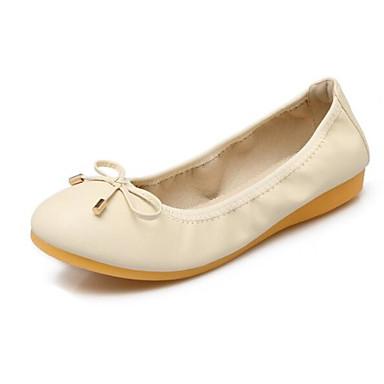 Negro Mujer Rosa Confort Tacón Primavera Verano 06785745 Bailarinas PU Beige Zapatos Plano qqF6p1wx8