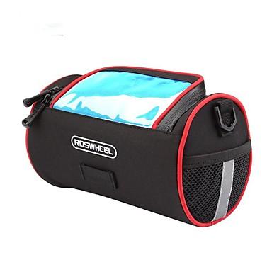 abordables Sacoches de Vélo-Sacoche de Guidon de Vélo 5.5 pouce Bandes Réfléchissantes Cyclisme pour iPhone 8 Plus / 7 Plus / 6S Plus / 6 Plus Noir / 600D Polyester