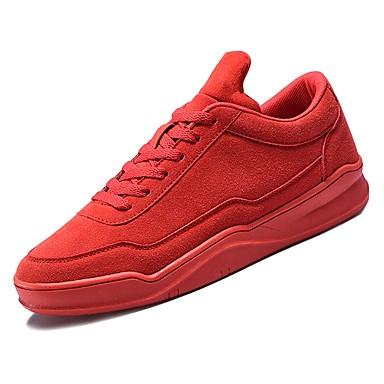 Men's Suede Fall Comfort / Sneakers Black / Gray / Comfort Red a3ff30