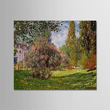 Hang-malované olejomalba Ručně malované - Slavné Krajina Moderní Obsahovat vnitřní rám / Reprodukce plátna