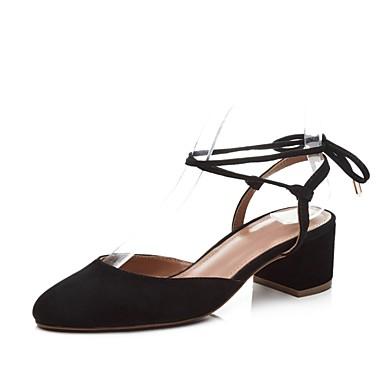 Talons Eté à 06831382 Daim Femme Talon Basique Chaussures Bottier Rose Amande Noir Escarpin Chaussures wR1xx0HS