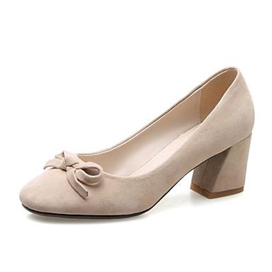 Chaussures Basique Talons Amande Confort Femme Bottier Rose 06816606 mouton Chaussures de Printemps Escarpin Peau Talon Noir à Automne dqUqPa8w