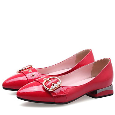 3b119208f Women's Microfiber Summer Comfort Loafers & Slip-Ons Chunky Heel Pointed Toe  Rhinestone Black /