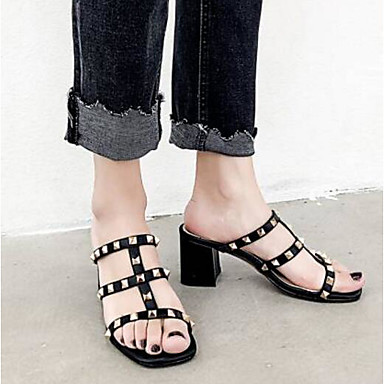 de Sandales 06791335 Escarpin Femme Peau Eté Bottier Basique Noir mouton Gris Talon Chaussures Confort HqEOq8